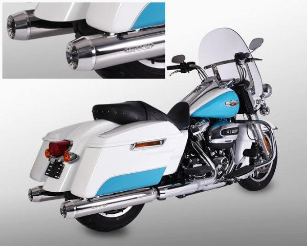 Exhaust,Softail Touring FL3 107cui,Harley Davidson®,Milwaukee Eight,Legal, EG/BE,ABE,EURO4