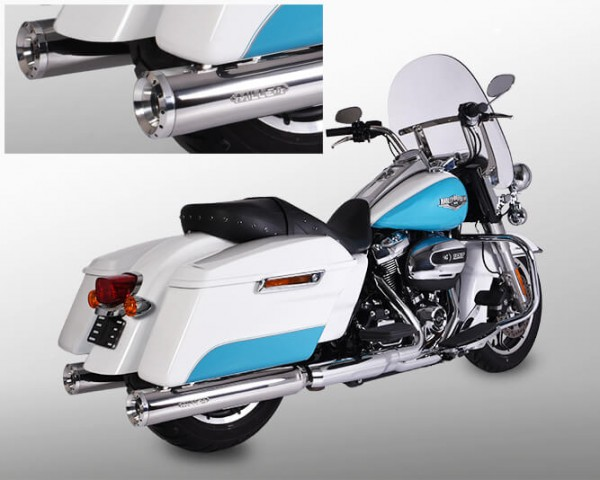 Auspuff,Softail Touring FL3 114cui,Harley Davidson®,Milwaukee Eight,Legal, EG/BE,ABE,EURO4