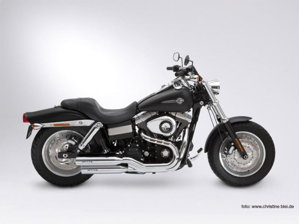 Auspuff, Fat Bob, Harley Davidson®, Utah ll, Legal, EG/BE, EURO3