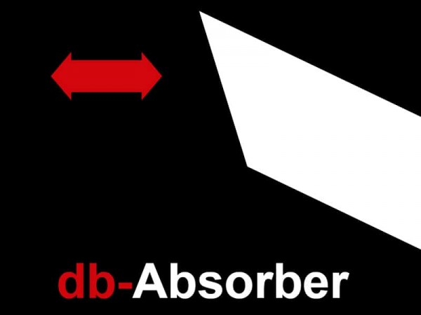 dB absorber, universal silencer, Classic Line, EG/BE, ABE