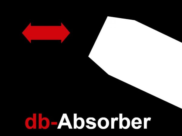 dB-Absorber Racing Universal Endschalldämpfer Retro