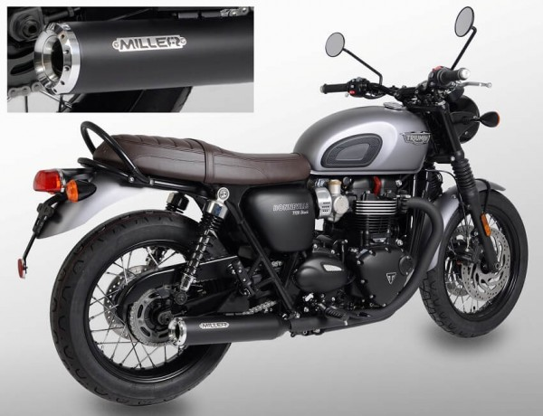 Auspuff,Bonneville T100,Triumph®,Legal, EG/BE,ABE,EURO4